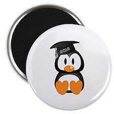 "Custom Graduation Penguin 2.25"" Magnet (10 pack)"