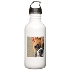 Boxer Dog Water Bottle
