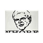 Newt Gingrich: Whore Rectangle Magnet