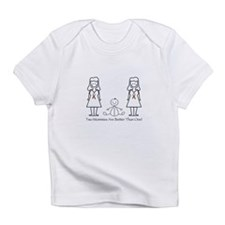 LGBT 2 Mommies Infant T-Shirt