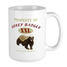 Property of Honey Badger Coffee Mug