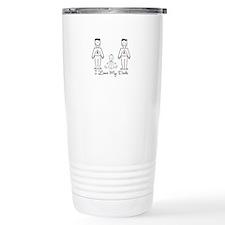 Love My Dads (lgbt) Travel Mug