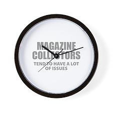 Magazine Collectors Wall Clock