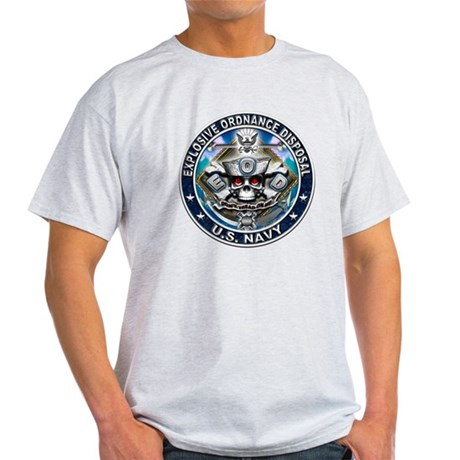 USN Explosive Ordnance Dispos Light T-Shirt