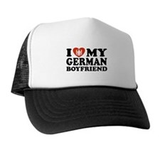 I Love My German Boyfriend Trucker Hat