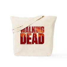 The Walking Dead Blood Logo Tote Bag