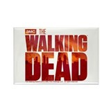 The Walking Dead Blood Logo Rectangle Magnet