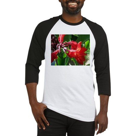 Red Canna Baseball Jersey