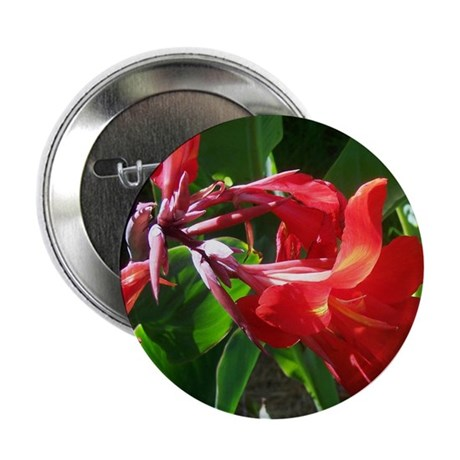 "Red Canna 2.25"" Button (100 pack)"