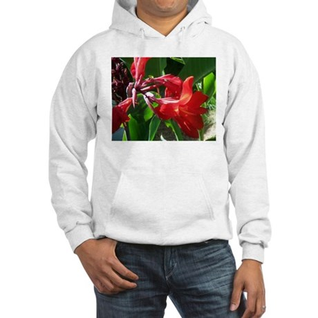 Red Canna Hooded Sweatshirt