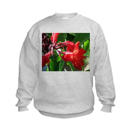 Red Canna Kids Sweatshirt