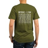 Christopher Hitchens Hitchslap 04 Blue T-Shirt