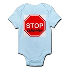 Stop Sign Snitching Infant Creeper