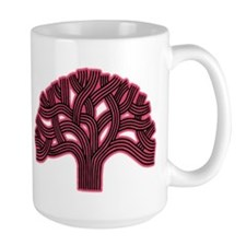 Oakland Tree Hazed Red Mug