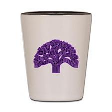 Oakland Tree Purple Haze Shot Glass