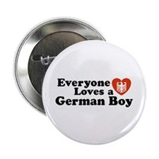 Everyone Loves a German Boy Button