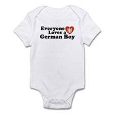 Everyone Loves a German Boy Infant Creeper