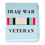 Iraq War Veterans baby blanket