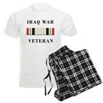 Iraq War Veterans Men's Light Pajamas