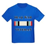 Iraq War Veterans Kids Dark T-Shirt