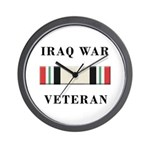 Iraq War Veterans Wall Clock