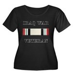 Iraq War Veterans Women's Plus Size Scoop Neck Dar