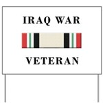 Iraq War Veterans Yard Sign