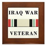 Iraq War Veterans Framed Tile