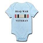 Iraq War Veterans Infant Bodysuit