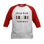 Iraq War Veterans Kids Baseball Jersey