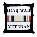 Iraq War Veterans Throw Pillow