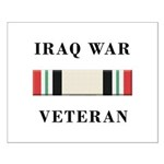 Iraq War Veterans Small Poster