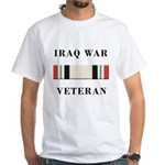 Iraq War Veterans White T-Shirt