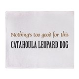 NTG Catahoula Leopard Dog Throw Blanket