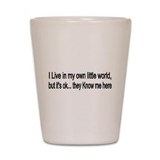 little world Shot Glass