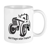 Still Plays with Tractors Mug