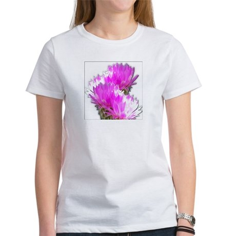 Cactus Blooms Women's T-Shirt