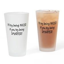 SMARTER Drinking Glass