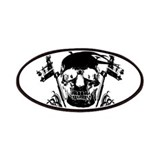 Inked Skull Patches