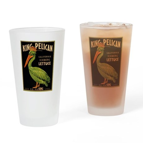 King Pelican Drinking Glass