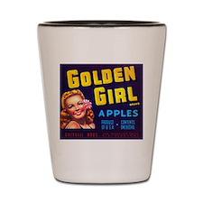 Golden Girl Shot Glass