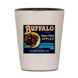 Buffalo Pajaro Shot Glass