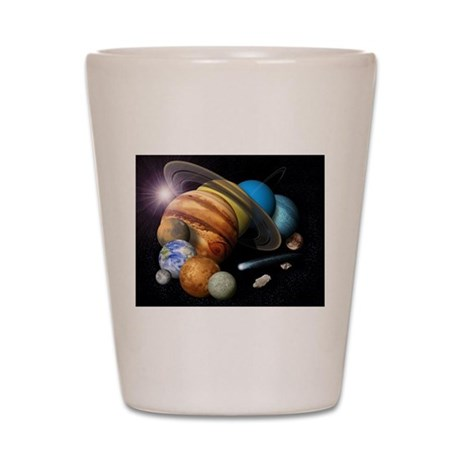 Space 8 Shot Glass
