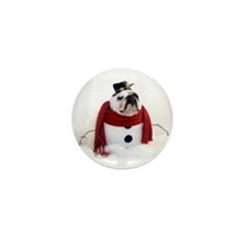 Snowman Mini Button (10 pack)