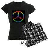 Peace Sign Rainbow Pajamas