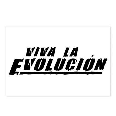 Viva la Evolucion Postcards (Package of 8)
