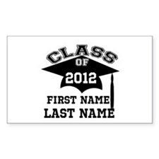 Customizable Senior Decal