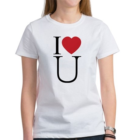 I Love You; I Heart U Women's T-Shirt