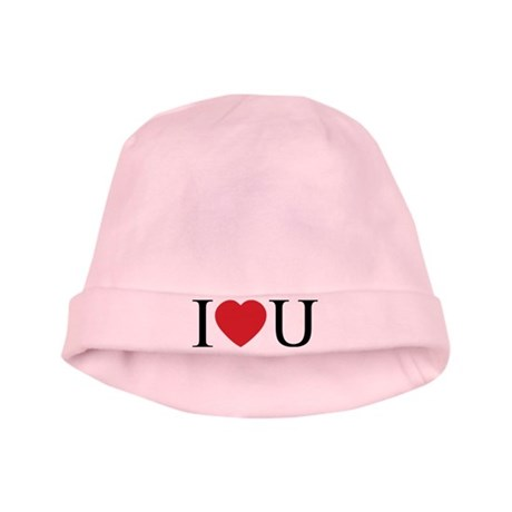 I Love You; I Heart U Baby Hat