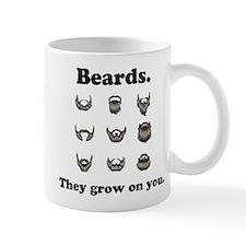 Beards - They Grow On You Small Mugs